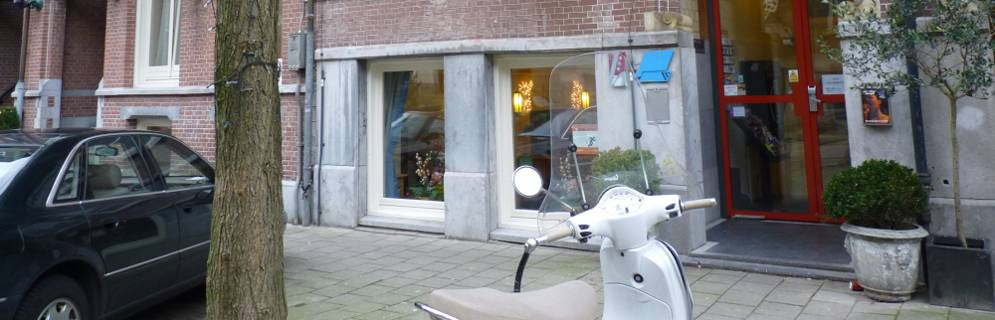 Entrance of Hotel Omega Amsterdam